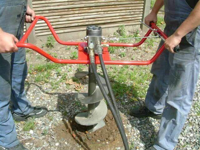 Ручное бурение скважин на воду цена